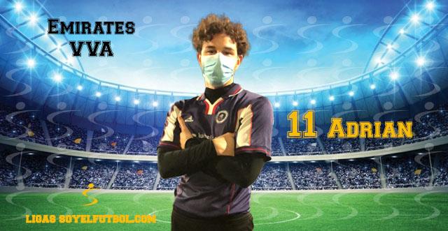 Entrevista a Adrián. Emirates VVA. jornada 3. Torneos fútbol 7 soyelfutbol.com (Grupo lunes)