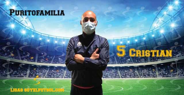 Entrevista a Cristian. Puritofamilia. jornada 1. Torneos fútbol 7 soyelfutbol.com (Grupo miércoles)