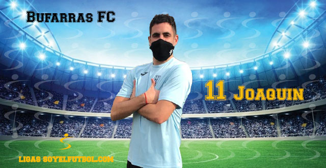 Entrevista a Joaquín. Bufarras F. jornada 3. Torneos fútbol 7 soyelfutbol.com (Grupo Sábados)