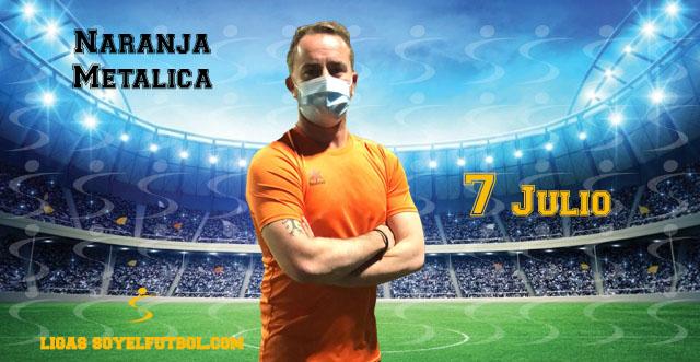 Entrevista A Julio. NARANJA METÁLICA jornada 3. Torneos fútbol 7 soyelfutbol.com (Grupo lunes)