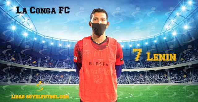 Entrevista a Lenin. La Conga FC. jornada 3. Torneos fútbol 7 soyelfutbol.com (Grupo Miércoles)