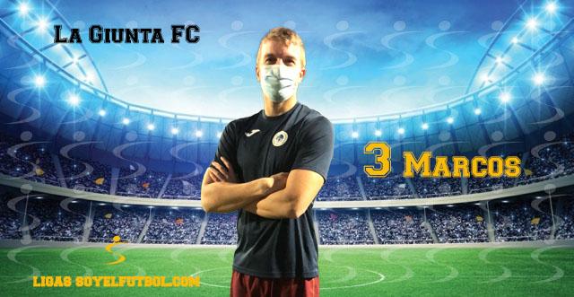 Entrevista a Marcos. La Giunta FC. jornada 2. Torneos fútbol 7 soyelfutbol.com (Grupo Miércoles)