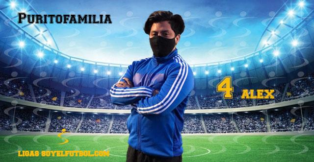Entrevista a Alex. Puritofamilia. jornada 5. Torneos fútbol 7 soyelfutbol.com (Grupo Miércoles)