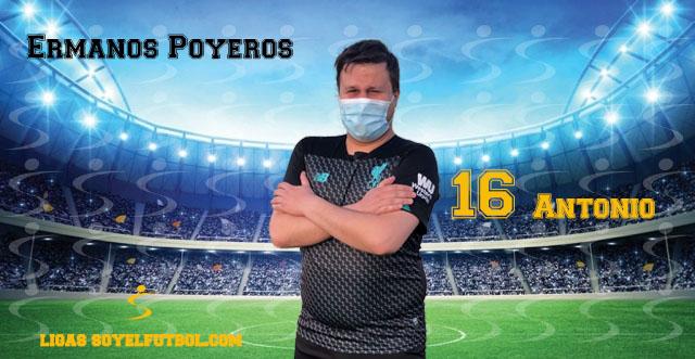 Entrevista a Antonio. Ermanos Poyeros. jornada 5. Torneos fútbol 7 soyelfutbol.com (Grupo Miércoles)
