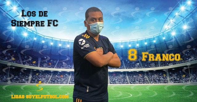 Entrevista a Franco. Los de Siempre FC. jornada 02. II Torneos fútbol 7 soyelfutbol.com (Grupo Miércoles)