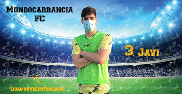 Entrevista a Javier. Mundocarrancia FC. jornada 4. Torneos fútbol 7 soyelfutbol.com (Grupo Miércoles)