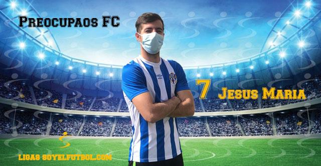 Entrevista a Jesús María. Preocupaos FC. jornada 4. Torneos fútbol 7 soyelfutbol.com (Grupo Sábados)