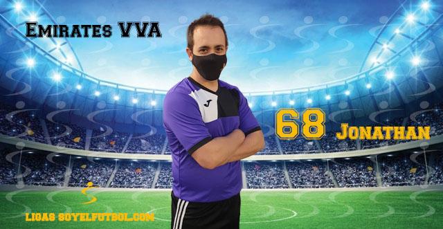 Entrevista a Jonathan. Emirates VVA. jornada 5. Torneos fútbol 7 soyelfutbol.com (Grupo Lunes)