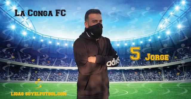 Entrevista a Jorge. La Conga FC. jornada 5. Torneos fútbol 7 soyelfutbol.com (Grupo Miércoles)