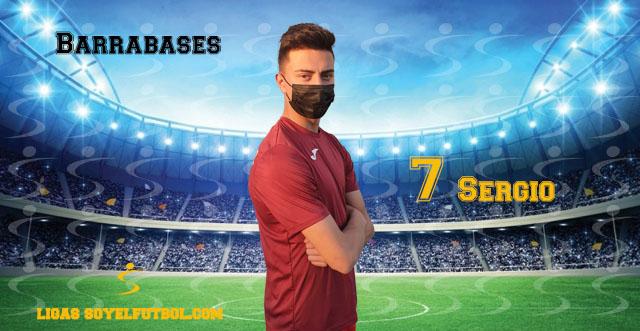 Entrevista a Sergio. Barrabases. jornada 5. Torneos fútbol 7 soyelfutbol.com (Grupo Lunes)