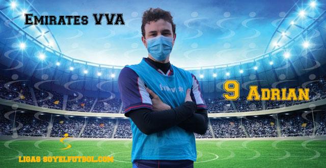 Entrevista a Adrián. Emirates VVA. jornada 05. II Torneos fútbol 7 soyelfutbol.com (Grupo Lunes)