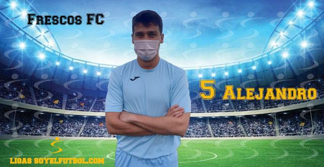 Entrevista a Alejandro. Frescos FC. jornada 05. II Torneos fútbol 7 soyelfutbol.com (Grupo viernes)