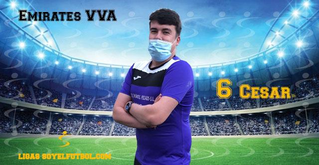 Entrevista a César. Emirates VVA. jornada 04. II Torneos fútbol 7 soyelfutbol.com (Grupo Lunes)