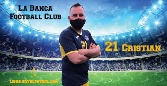 Entrevista a Cristian. La Banca Football Club. jornada 04. II Torneos fútbol 7 soyelfutbol.com (Grupo Lunes)