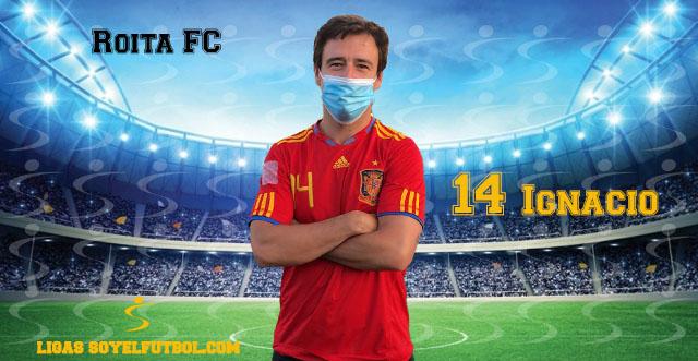 Entrevista a Ignacio. Roita FC. jornada 05. II Torneos fútbol 7 soyelfutbol.com (Grupo Miércoles)