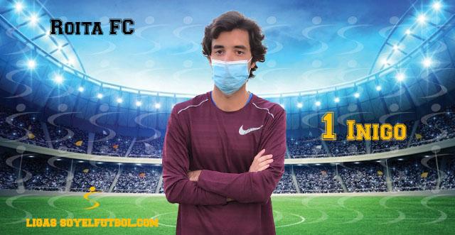 Entrevista a Íñigo. Roita FC. jornada 02. II Torneos fútbol 7 soyelfutbol.com (Grupo Miércoles)