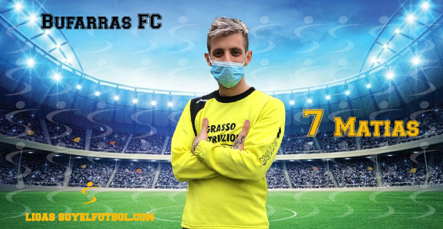 Entrevista a Matías. Bufarras FC. jornada 03. II Torneos fútbol 7 soyelfutbol.com (Grupo Sábados)