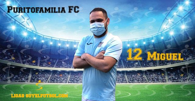 Entrevista a Miguel. Puritofamilia FC. jornada 04. II Torneos fútbol 7 soyelfutbol.com (Grupo Lunes)