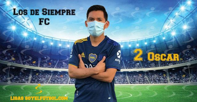 Entrevista a Óscar. Los de Siempre FC. jornada 05. II Torneos fútbol 7 soyelfutbol.com (Grupo Miércoles)