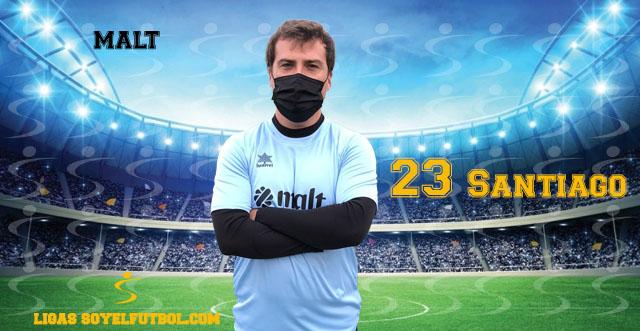 Entrevista a Santiago. malt. jornada 05. II Torneos fútbol 7 soyelfutbol.com (Grupo Miércoles)
