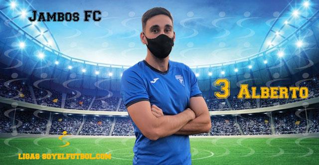 Entrevista a Alberto. Jambos FC. jornada 02. III Torneos fútbol 7 soyelfutbol.com (Grupo Miércoles)
