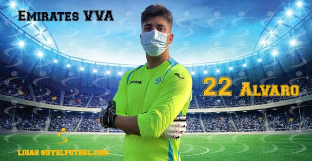 Entrevista a Álvaro. Emirates VVA. jornada 05. III Torneos fútbol 7 soyelfutbol.com (Grupo Lunes)
