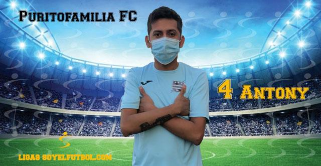 Entrevista a Antony. Puritofamilia FC. jornada 05. III Torneos fútbol 7 soyelfutbol.com (Grupo Lunes)