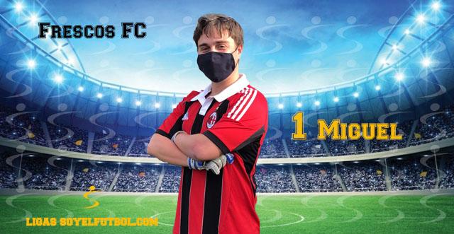 Entrevista a Miguel. Frescos FC. jornada 05. III Torneos fútbol 7 soyelfutbol.com (Grupo Martes)