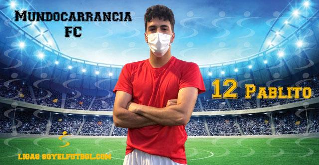 Entrevista a Pablito. Mundocarrancia FC. jornada 02. III Torneos fútbol 7 soyelfutbol.com (Grupo Miércoles)