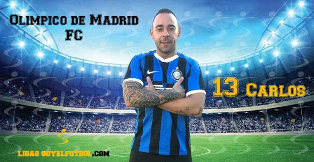 Entrevista a Carlos. Olímpico de Madrid FC. jornada 04. I Torneos fútbol 7 soyelfutbol.com (Grupo Sábados)