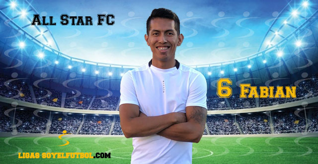 Entrevista a Fabián. All Star FC. jornada 04. I Torneos fútbol 7 soyelfutbol.com (Grupo Sábados)