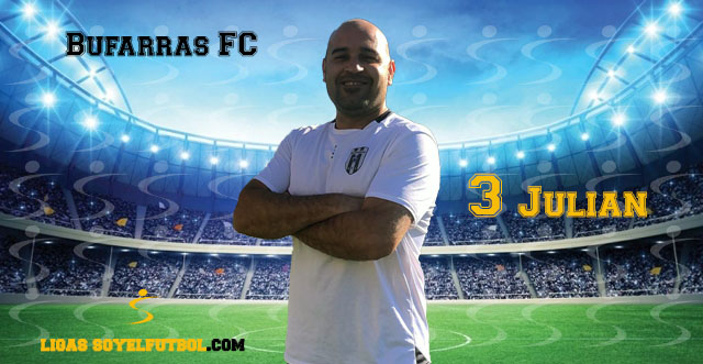 Entrevista a Julián. Bufarras FC. jornada 04. I Torneos fútbol 7 soyelfutbol.com (Grupo Sábados)
