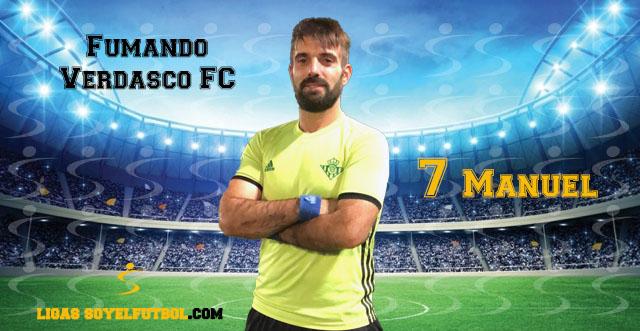 Entrevista a Manuel. Fumando Verdasco FC. jornada 03. I Torneos fútbol 7 soyelfutbol.com (Grupo Jueves «B»)