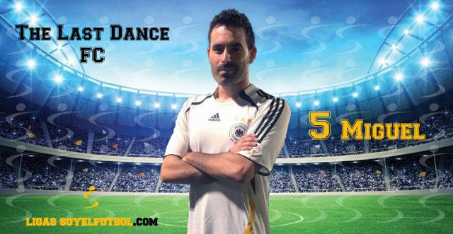 Entrevista a Miguel. The Last Dance FC. jornada 03. I Torneos fútbol 7 soyelfutbol.com (Grupo Jueves «B»)
