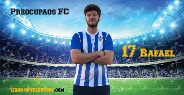 Entrevista a Rafael. Preocupaos FC. jornada 04. I Torneos fútbol 7 soyelfutbol.com (Grupo Sábados)