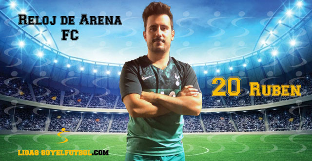 Entrevista a Rubén. Reloj de Arena FC. jornada 04. I Torneos fútbol 7 soyelfutbol.com (Grupo Jueves «A»)