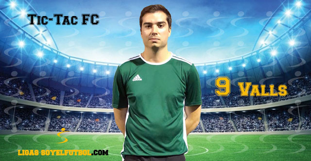 Entrevista a Valls. Tic-Tac FC. jornada 05. I Torneos fútbol 7 soyelfutbol.com (Grupo Martes)